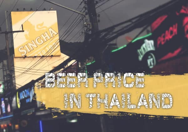 How much does a beer cost in Thailand