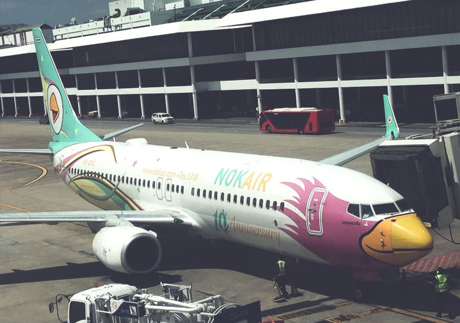 nok air thailand travel essentials