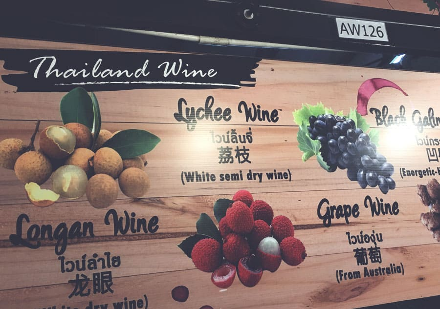 Wine in Thailand
