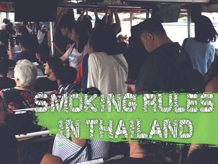 Is Smoking Allowed In Thailand? The Law And The Fines.