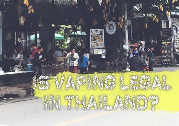 Is Vaping Legal In Thailand